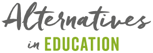 Alternatives in Education Logo