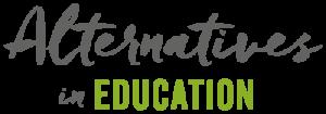 Alternatives in Education Logo